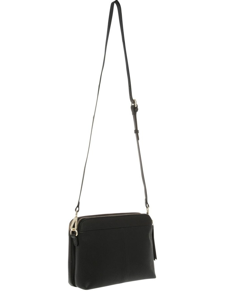 Segovia Black Zip-Top Crossbody Bag image 2