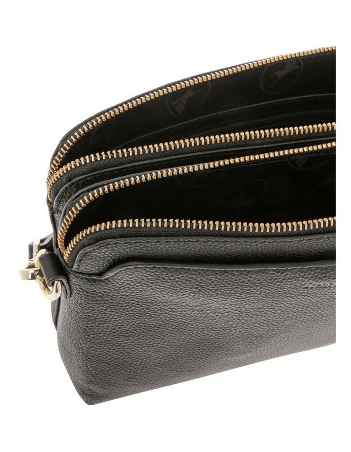 Segovia Black Zip-Top Crossbody Bag image 4