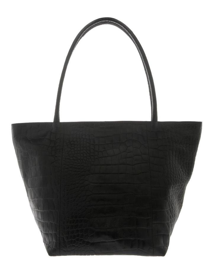Munich Double Handle Black Tote Bag image 1