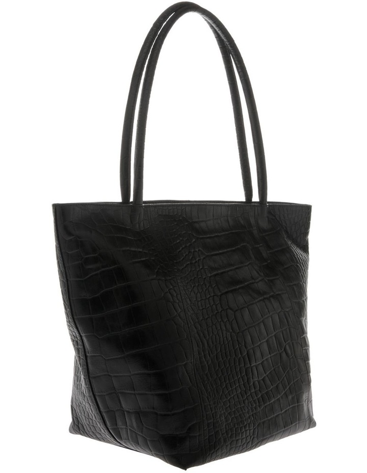 Munich Double Handle Black Tote Bag image 2