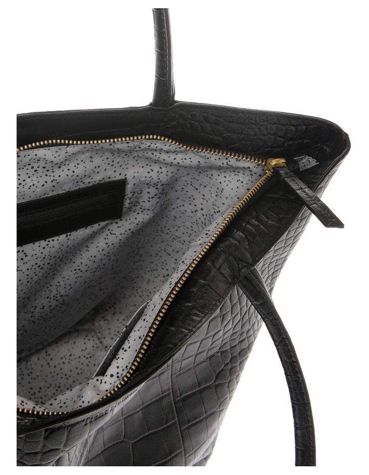 Munich Double Handle Black Tote Bag image 4