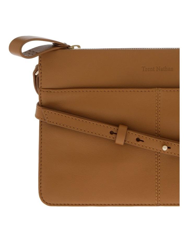 Venice Zip Top Tan Crossbody Bag image 3