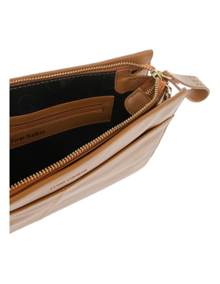 Venice Zip Top Tan Crossbody Bag image 4