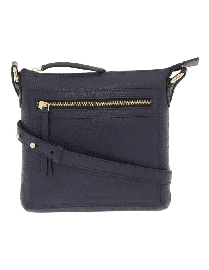 Vienna Zip Top Navy Crossbody Bag image 1