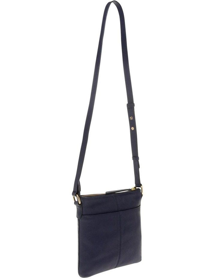 Vienna Zip Top Navy Crossbody Bag image 2
