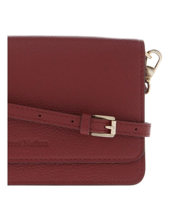 Copenhagen Phone Burgundy Flap-Over Wallet image 3