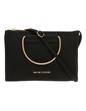 b64a2c940410 Wayne Cooper Crystal Zip Top Crossbody Bag