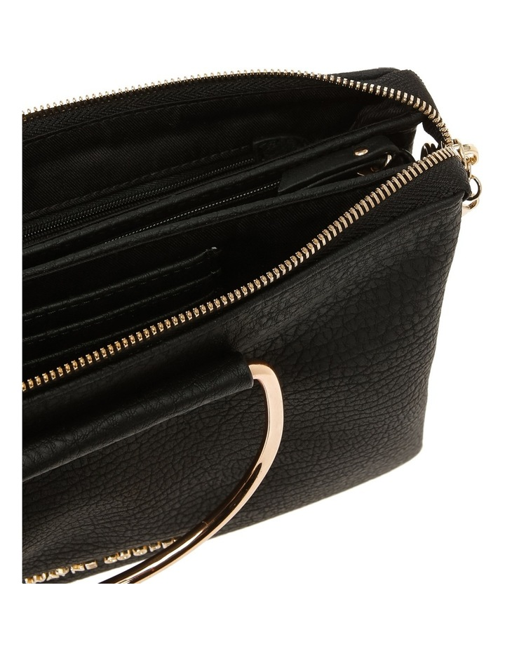 Crystal Zip Top Crossbody Bag image 4