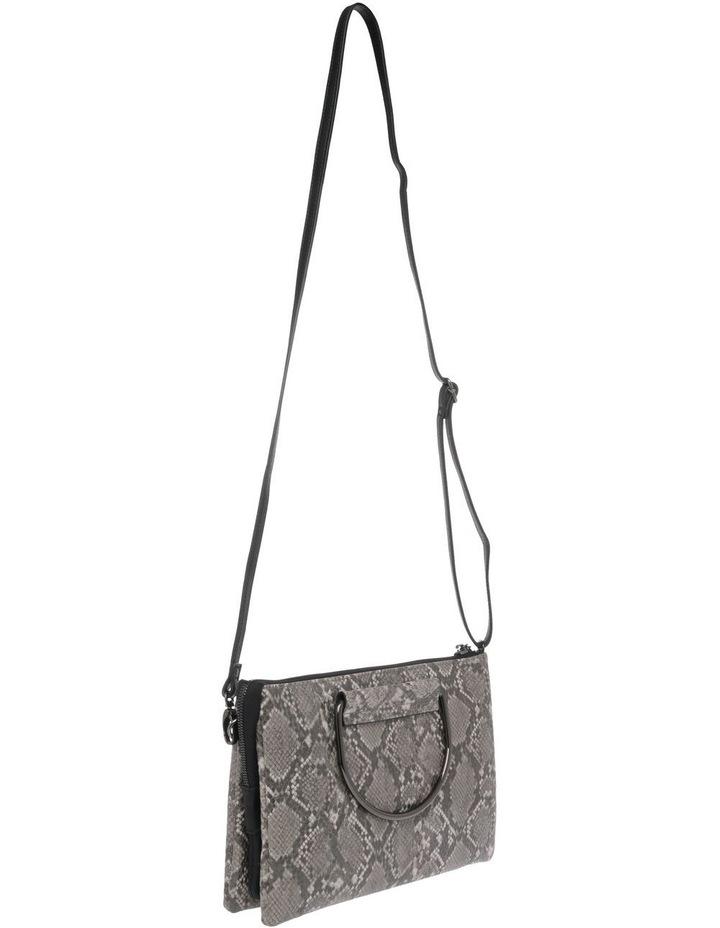 WH-2522 Crystal Zip Top Crossbody Bag image 2