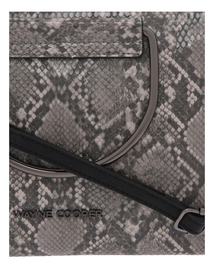 WH-2522 Crystal Zip Top Crossbody Bag image 3