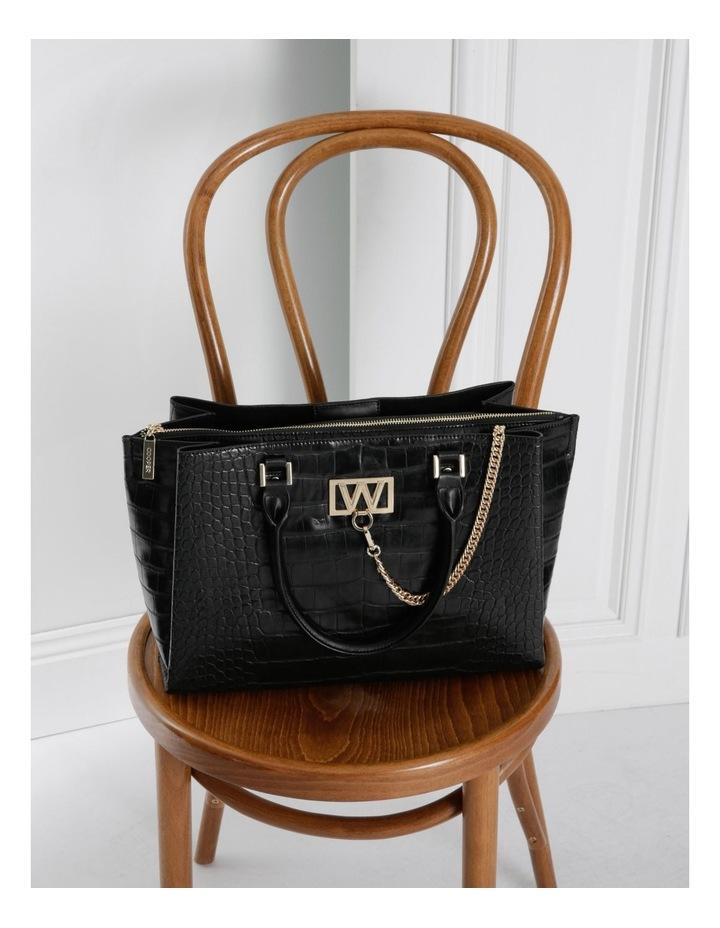 Victoria Zip Top Tote Bag image 5