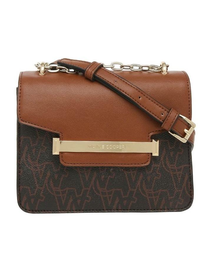 Ebony Flap Over Crossbody Bag image 1