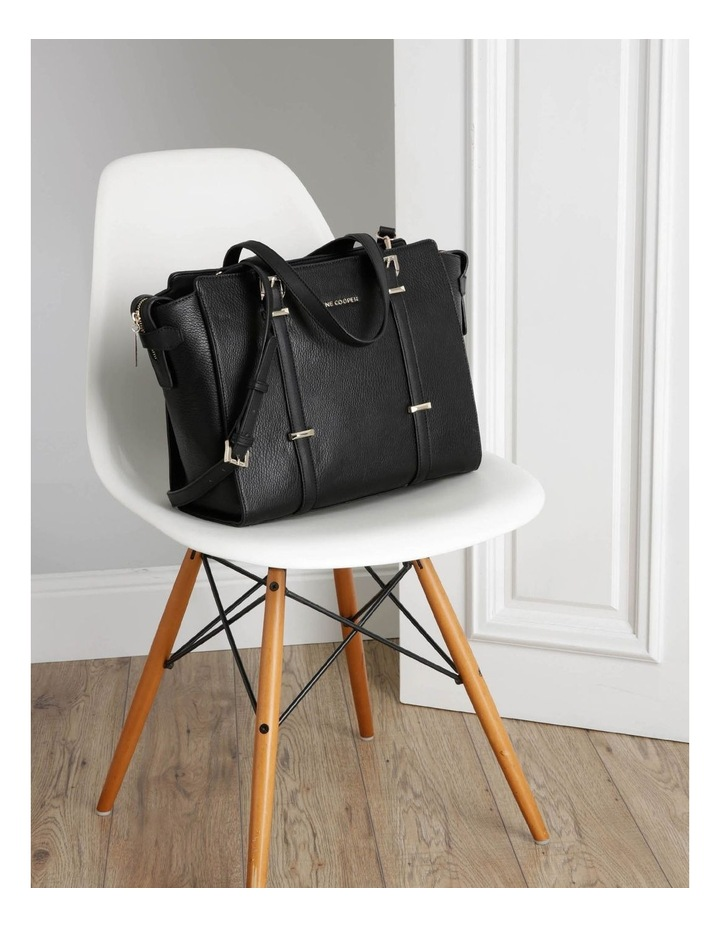 Ebony Double Handle Tote Bag image 5
