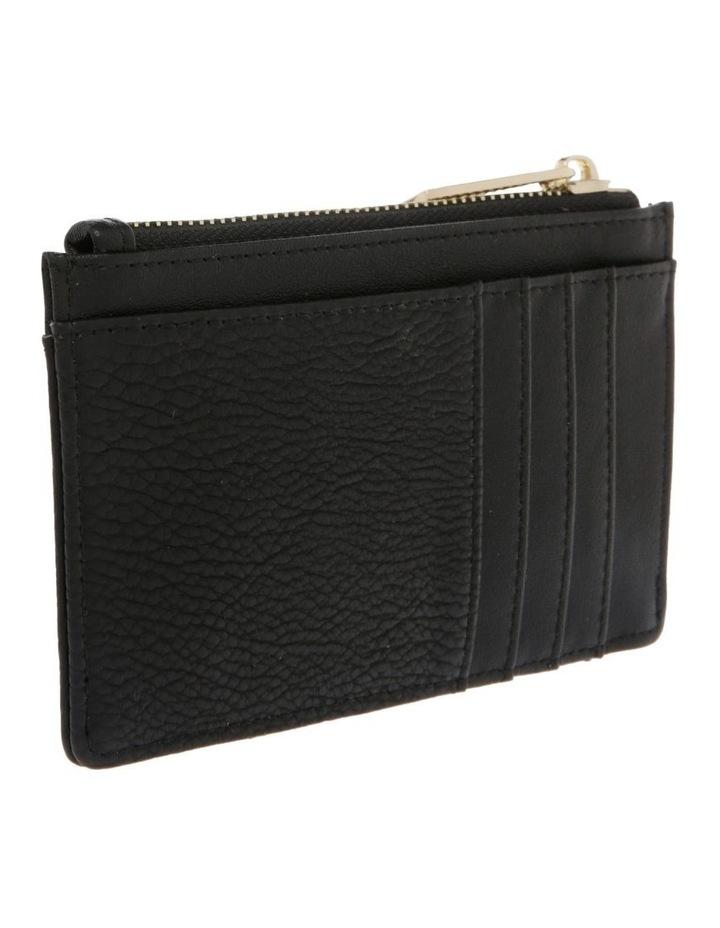 Ebony Zip Top Card Holder image 2