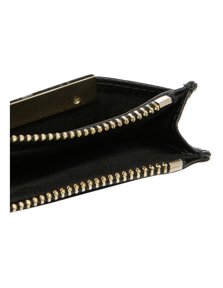 Ebony Zip Top Card Holder image 3