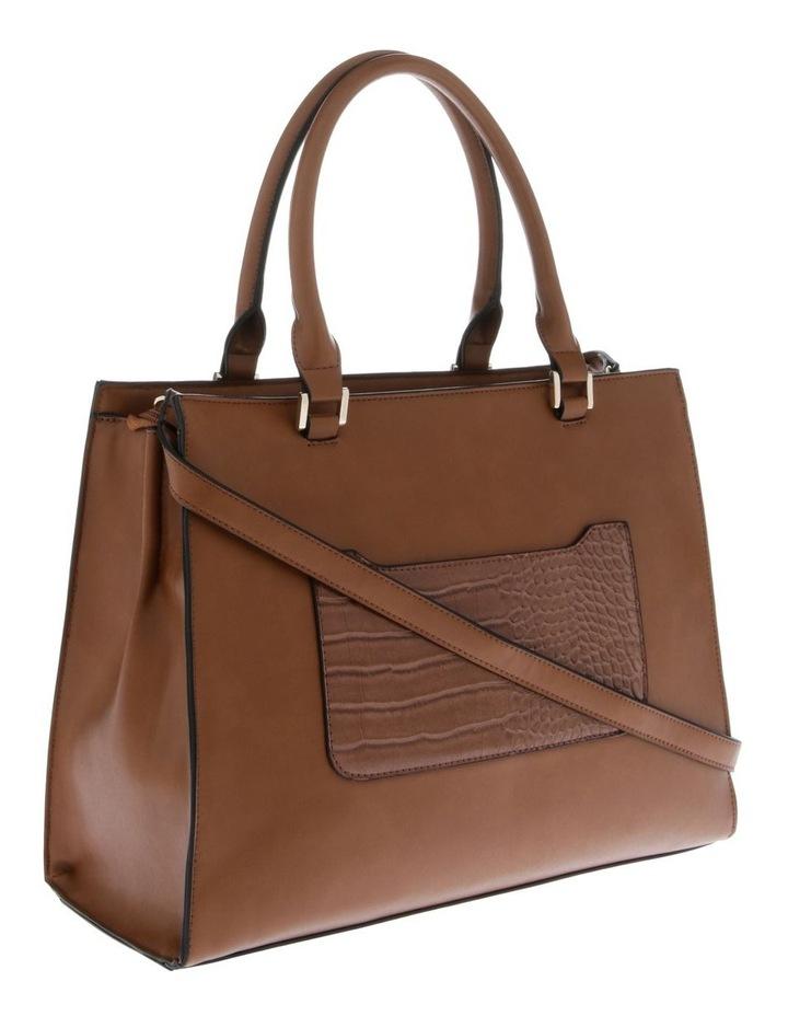 Chelsea Double Handle Tan Tote Bag image 2