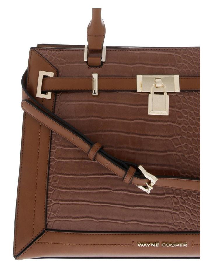 Chelsea Double Handle Tan Tote Bag image 3