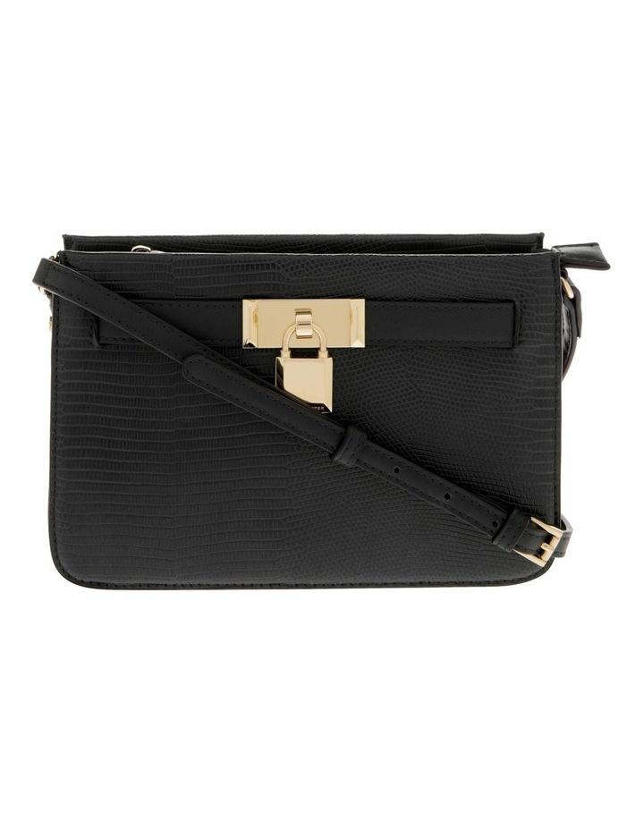 Chelsea Black Zip-Top Crossbody Bag image 1
