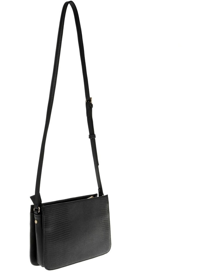 Chelsea Black Zip-Top Crossbody Bag image 2