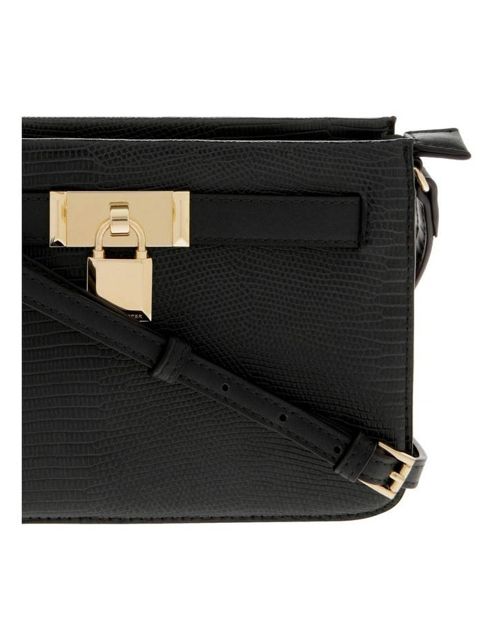 Chelsea Black Zip-Top Crossbody Bag image 3