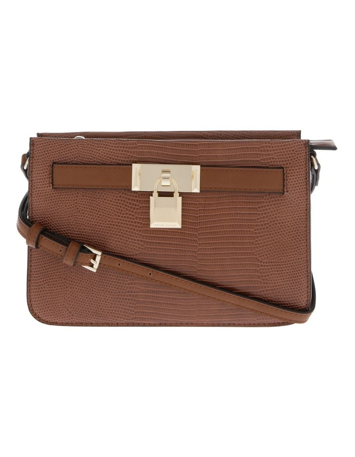 Chelsea Tan Zip-Top Crossbody Bag image 1