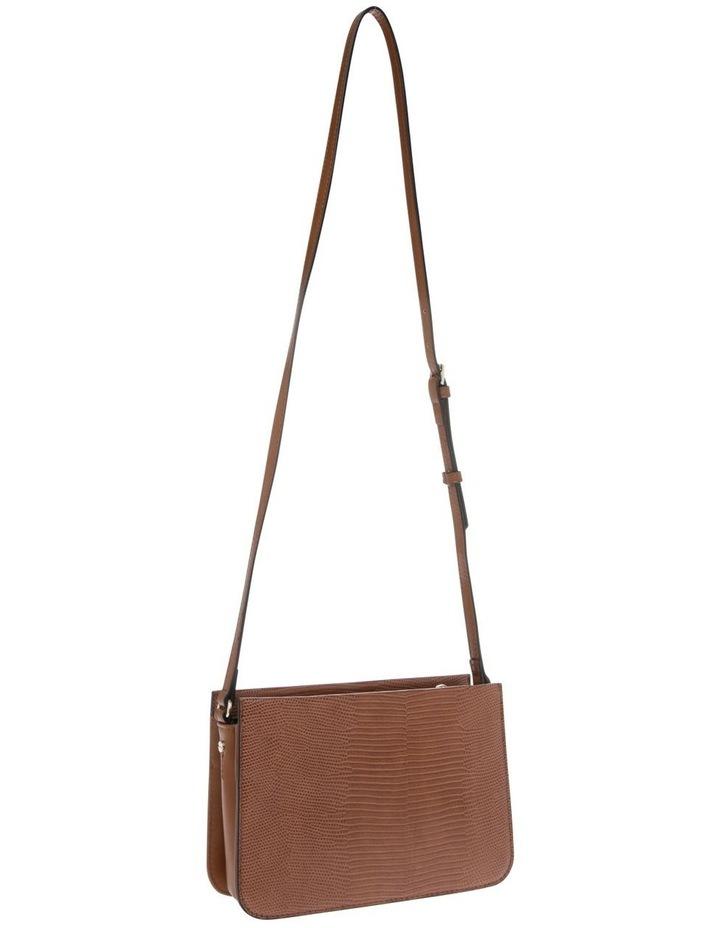 Chelsea Tan Zip-Top Crossbody Bag image 2