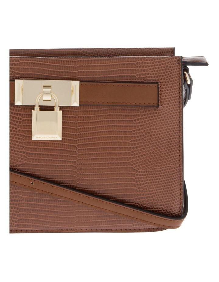 Chelsea Tan Zip-Top Crossbody Bag image 3
