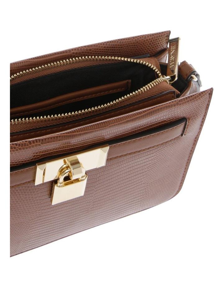 Chelsea Tan Zip-Top Crossbody Bag image 4