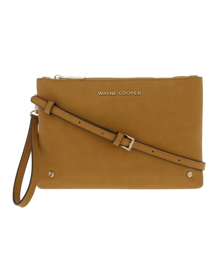 Vanessa Zip Top Yellow Crossbody Bag image 1