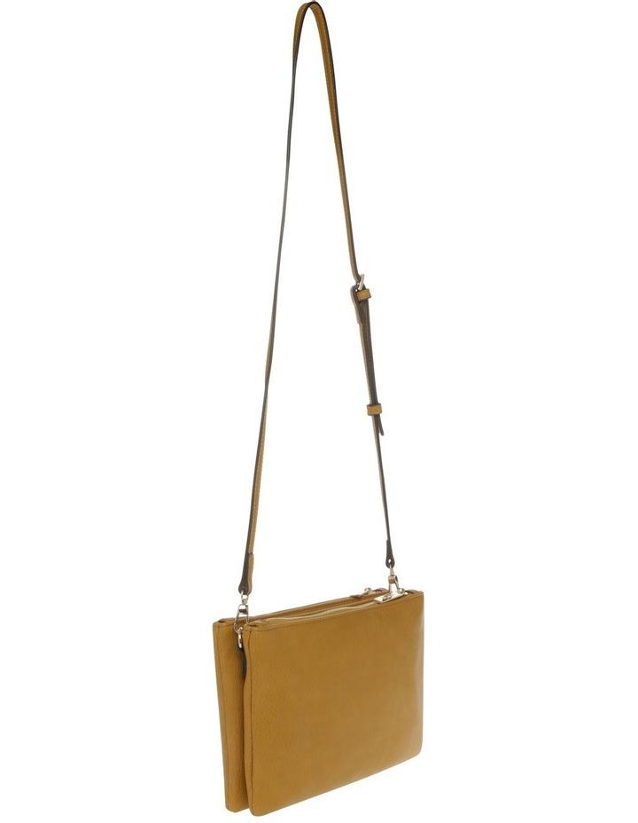 Vanessa Zip Top Yellow Crossbody Bag image 2