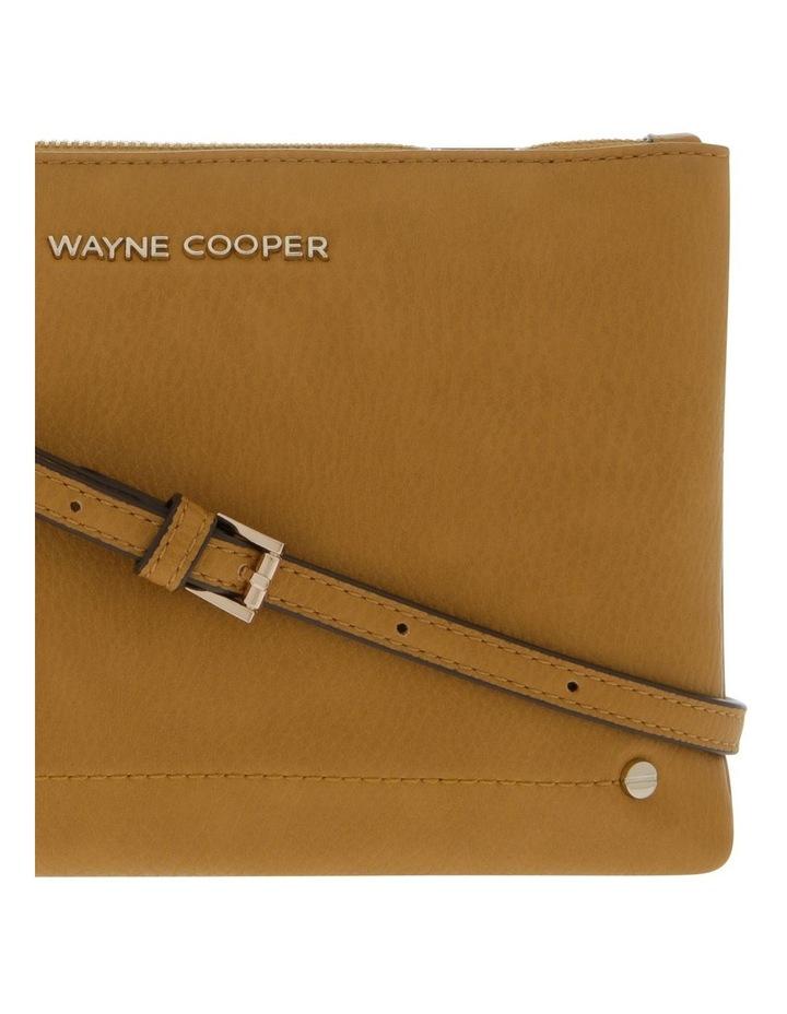 Vanessa Zip Top Yellow Crossbody Bag image 3