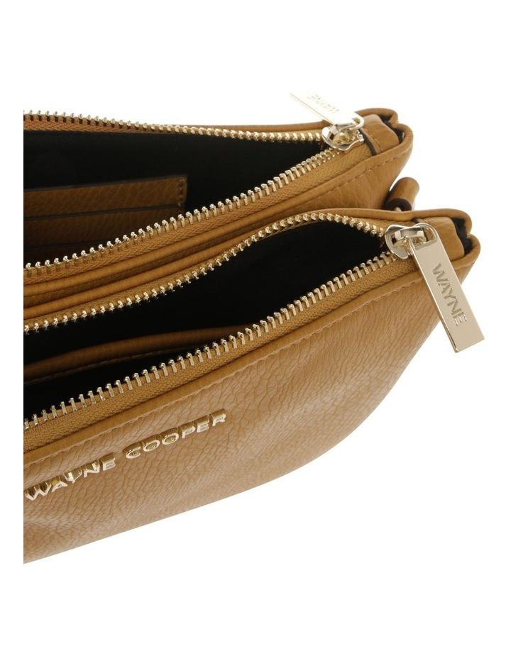 Vanessa Zip Top Yellow Crossbody Bag image 4