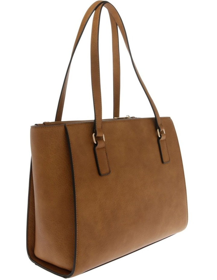 Olivia Double Handle Tan Tote Bag image 2