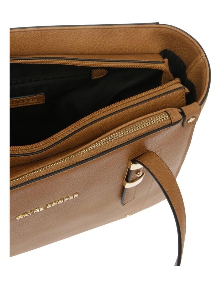 Olivia Double Handle Tan Tote Bag image 4