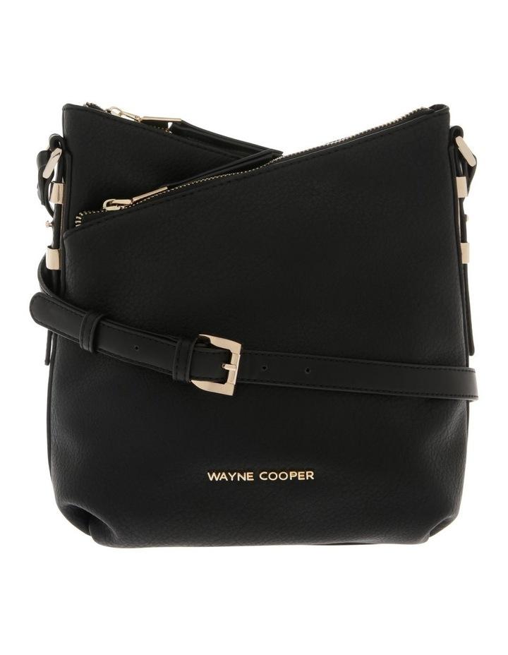 Olivia Zip Top Black Crossbody Bag image 1