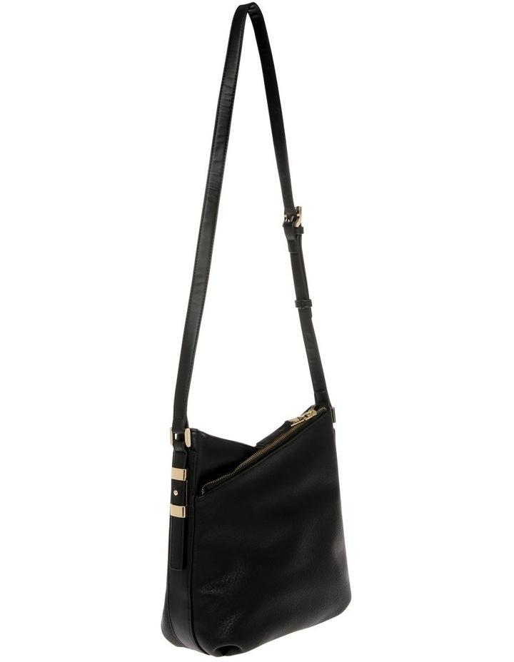 Olivia Zip Top Black Crossbody Bag image 2