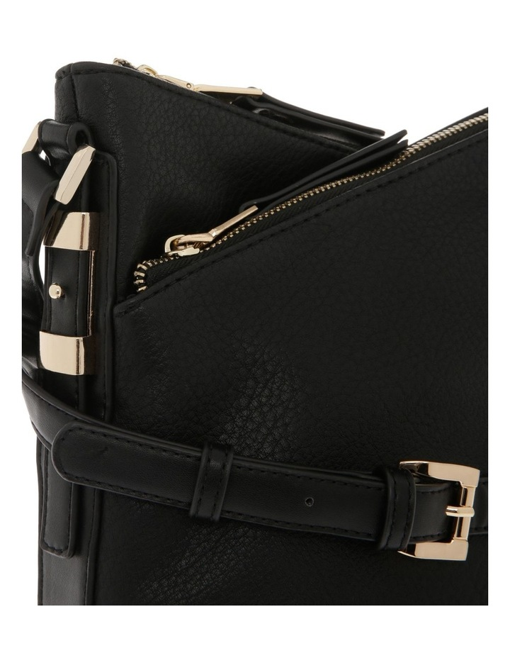 Olivia Zip Top Black Crossbody Bag image 3