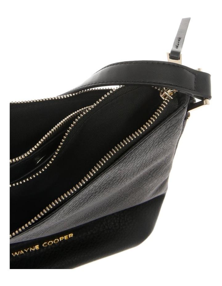 Olivia Zip Top Black Crossbody Bag image 4