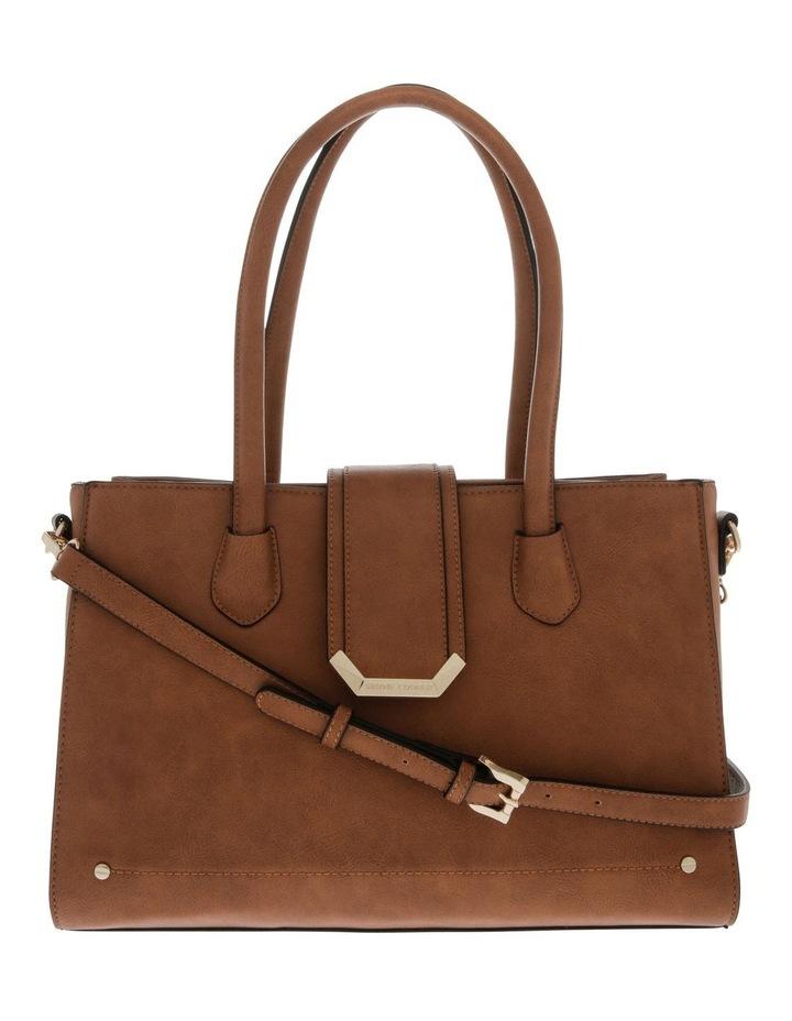 Amelie Double Handle Tan Tote Bag image 1