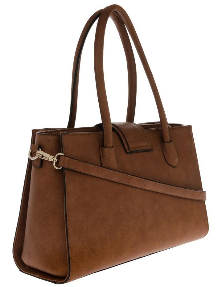 Amelie Double Handle Tan Tote Bag image 2