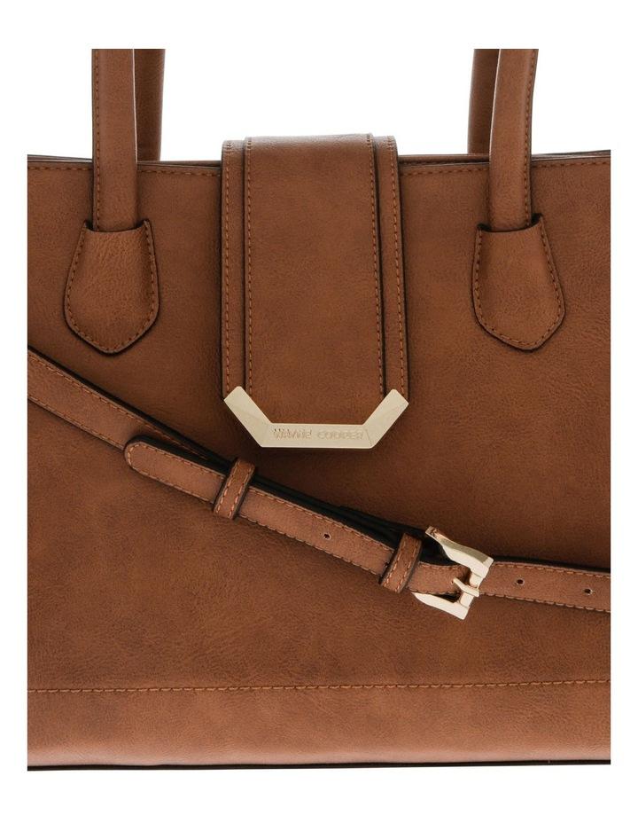 Amelie Double Handle Tan Tote Bag image 3