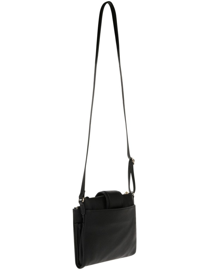 Amelie Zip Top Black Crossbody Bag image 2