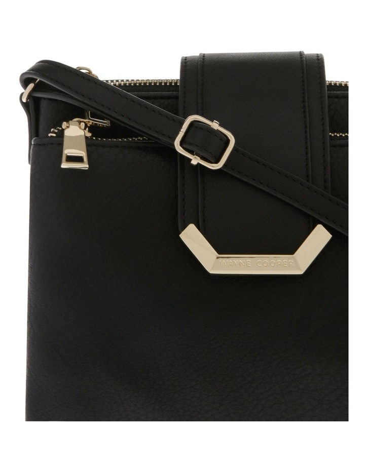 Amelie Zip Top Black Crossbody Bag image 3