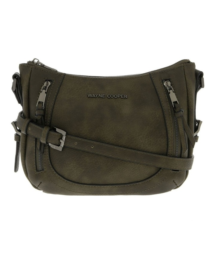 Tami Green Zip-Top Crossbody Bag image 1