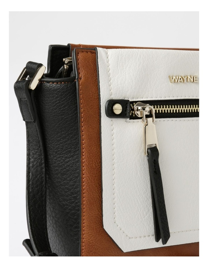 WH-2638 Heather Flap Over Crossbody Bag image 3