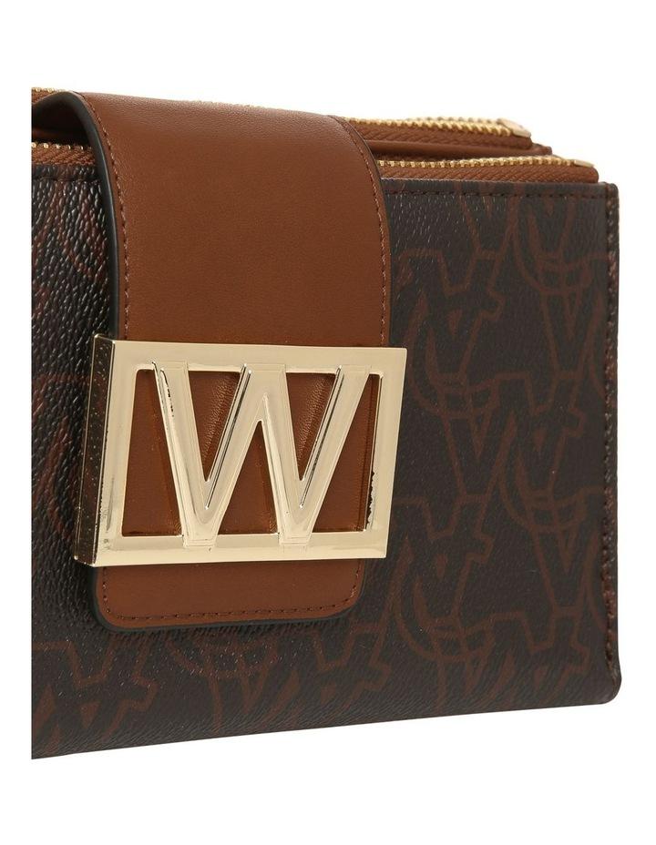 Victoria Bifold Wallet - Chocolate image 3