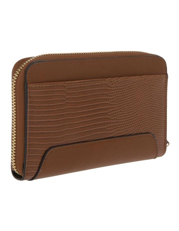 Chelsea Zip Around Tan Wallet image 2