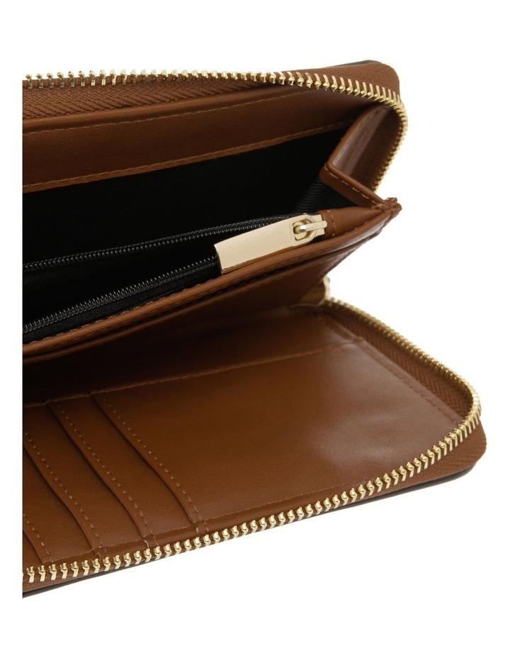 Chelsea Zip Around Tan Wallet image 3