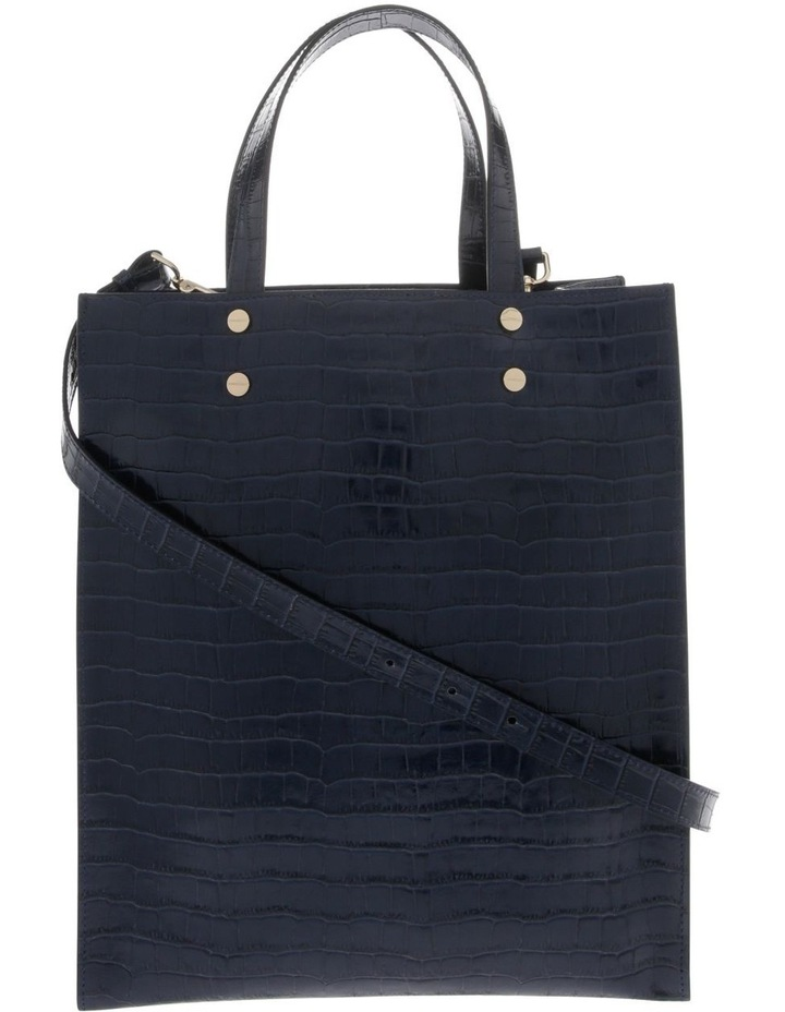 Rosa Double Handle Navy Tote Bag image 1