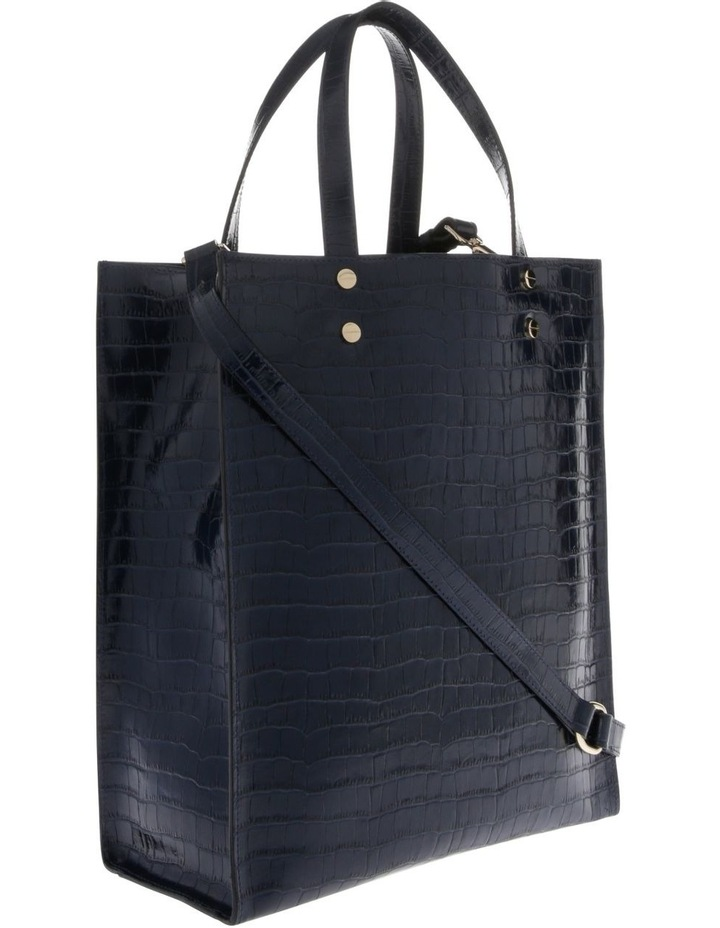 Rosa Double Handle Navy Tote Bag image 2